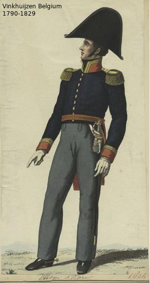Belgium from 1330 - Vinkhuijzen collection 1790-103