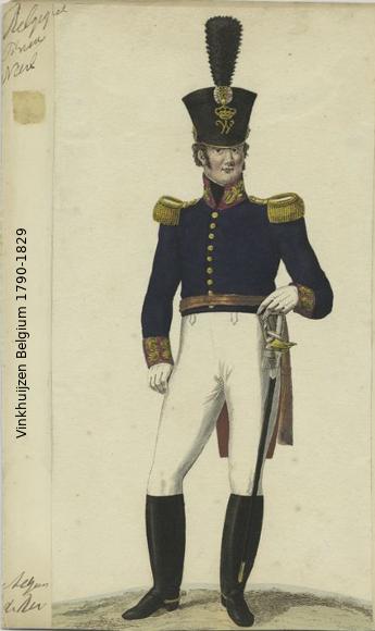 Belgium from 1330 - Vinkhuijzen collection 1790-104