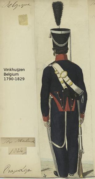 Belgium from 1330 - Vinkhuijzen collection 1790-109