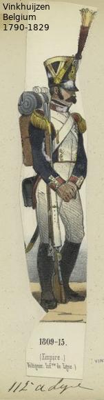 Belgium from 1330 - Vinkhuijzen collection 1790-113