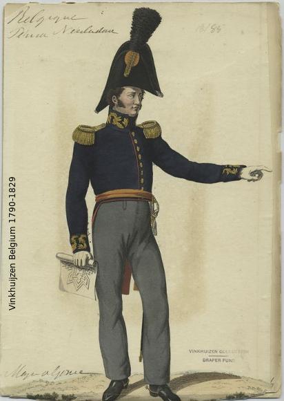 Belgium from 1330 - Vinkhuijzen collection 1790-124