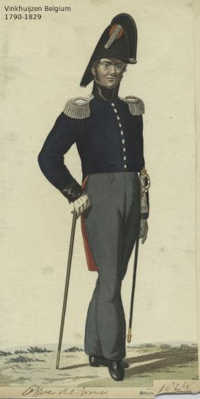Belgium from 1330 - Vinkhuijzen collection 1790-126