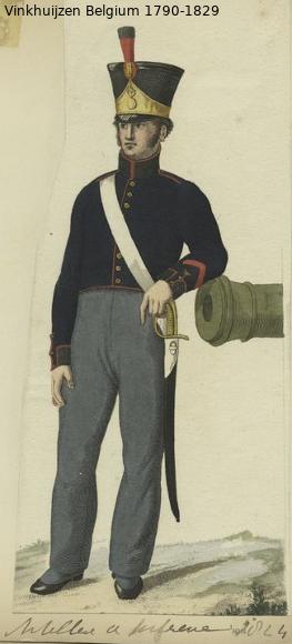 Belgium from 1330 - Vinkhuijzen collection 1790-127