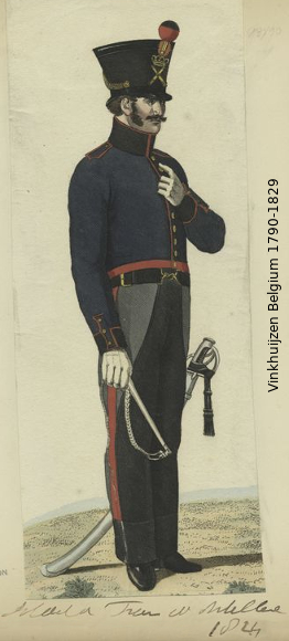 Belgium from 1330 - Vinkhuijzen collection 1790-129