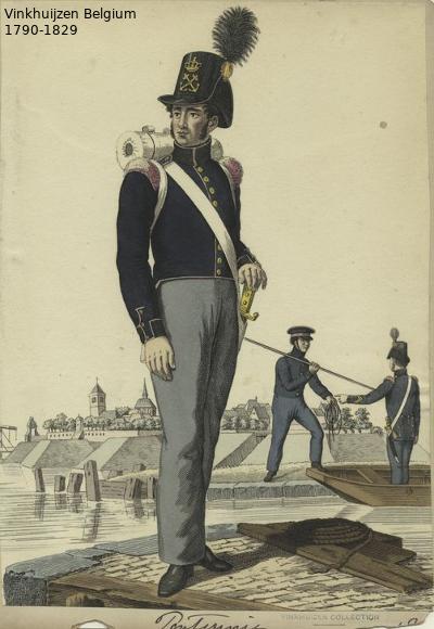 Belgium from 1330 - Vinkhuijzen collection 1790-131