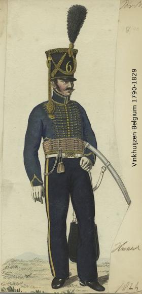 Belgium from 1330 - Vinkhuijzen collection 1790-137