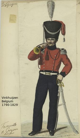 Belgium from 1330 - Vinkhuijzen collection 1790-141