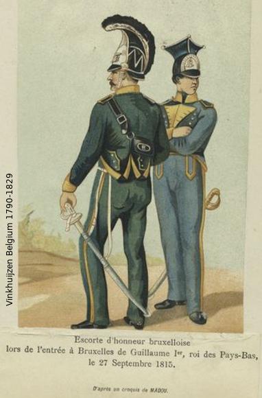 Belgium from 1330 - Vinkhuijzen collection 1790-159
