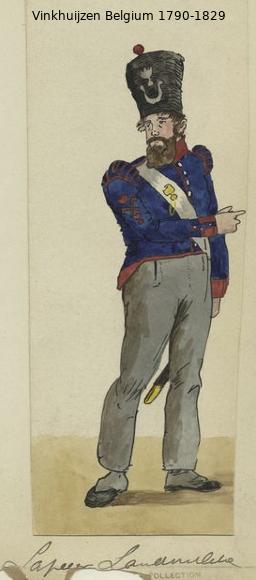 Belgium from 1330 - Vinkhuijzen collection 1790-162