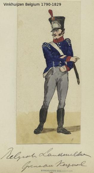 Belgium from 1330 - Vinkhuijzen collection 1790-163
