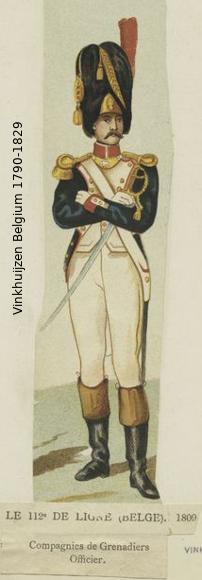 Belgium from 1330 - Vinkhuijzen collection 1790-167