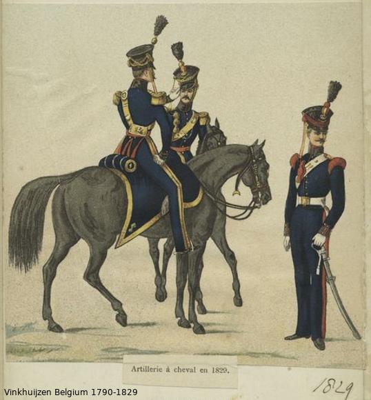 Belgium from 1330 - Vinkhuijzen collection 1790-174
