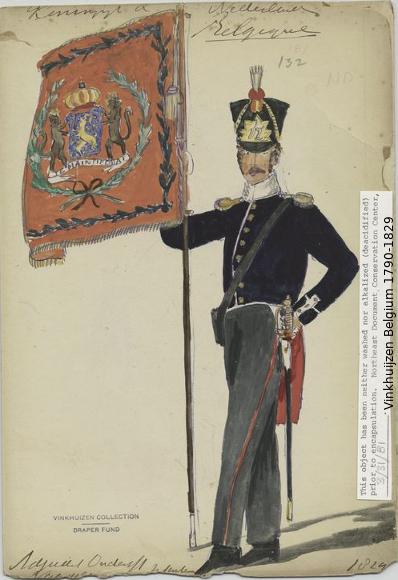 Belgium from 1330 - Vinkhuijzen collection 1790-175