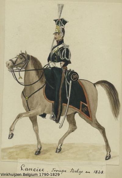 Belgium from 1330 - Vinkhuijzen collection 1790-177
