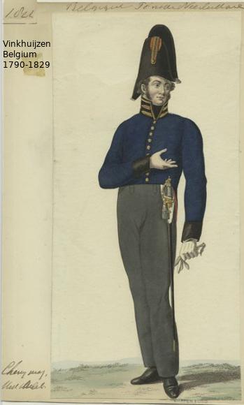 Belgium from 1330 - Vinkhuijzen collection 1790-178
