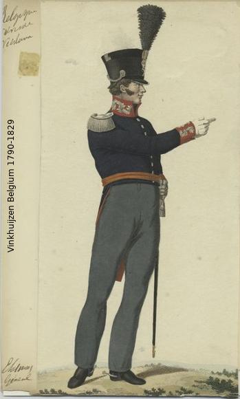 Belgium from 1330 - Vinkhuijzen collection 1790-179