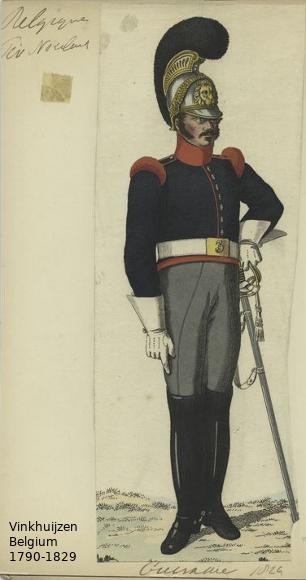 Belgium from 1330 - Vinkhuijzen collection 1790-181