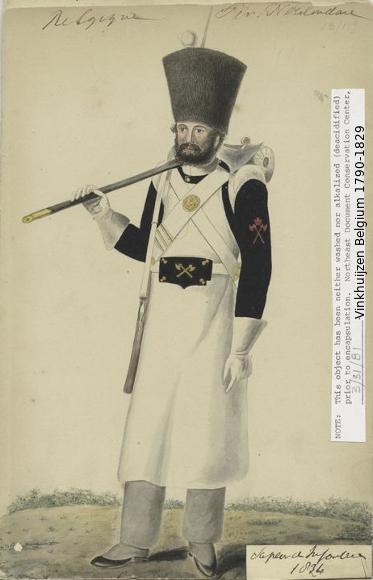 Belgium from 1330 - Vinkhuijzen collection 1790-185