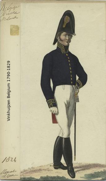 Belgium from 1330 - Vinkhuijzen collection 1790-187