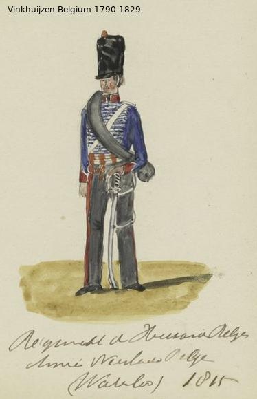 Belgium from 1330 - Vinkhuijzen collection 1790-188