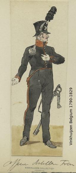 Belgium from 1330 - Vinkhuijzen collection 1790-189