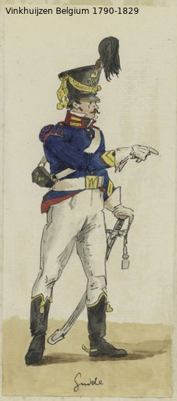 Belgium from 1330 - Vinkhuijzen collection 1790-190