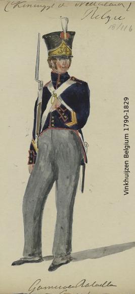 Belgium from 1330 - Vinkhuijzen collection 1790-200