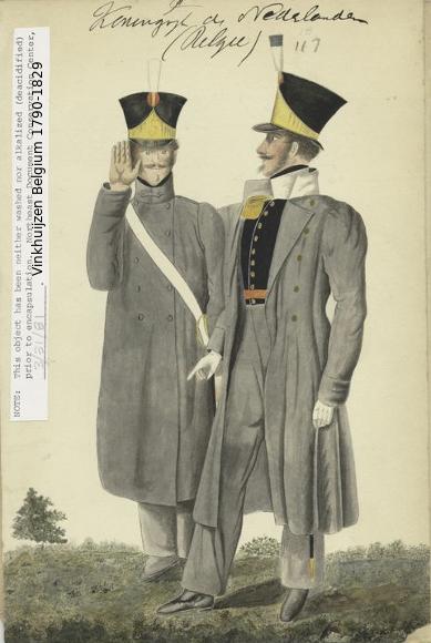 Belgium from 1330 - Vinkhuijzen collection 1790-201