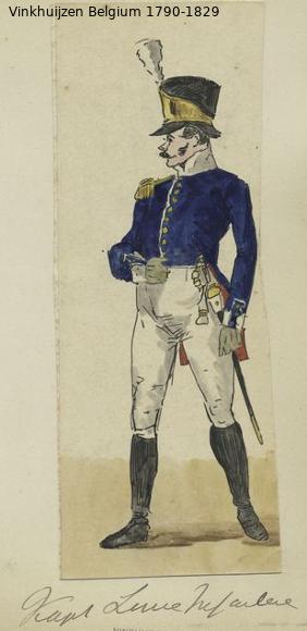 Belgium from 1330 - Vinkhuijzen collection 1790-204