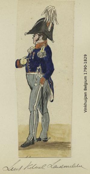 Belgium from 1330 - Vinkhuijzen collection 1790-205