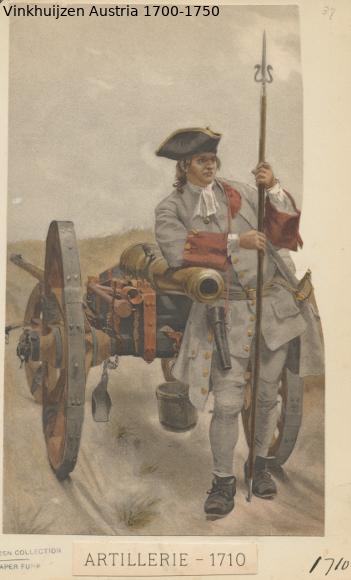 Austrian Uniforms Vinkhuijzen collection NYPL Austr106