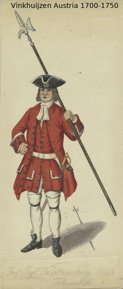 Austrian Uniforms Vinkhuijzen collection NYPL Austr114