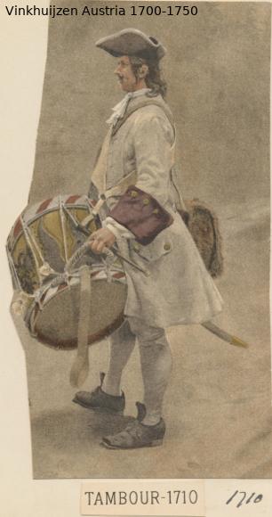 Austrian Uniforms Vinkhuijzen collection NYPL Austr133