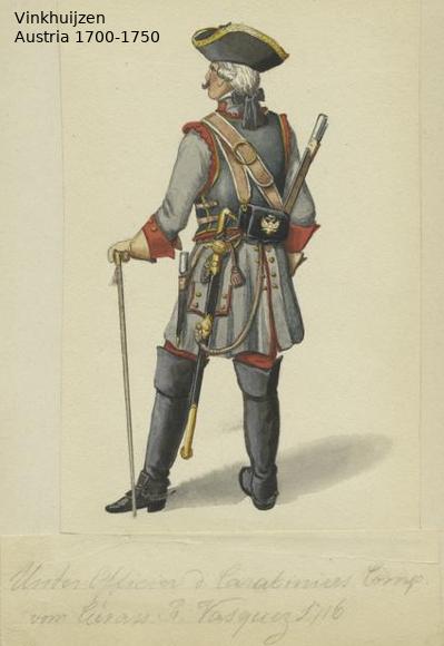 Austrian Uniforms Vinkhuijzen collection NYPL Austr140