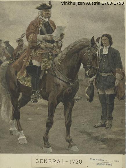 Austrian Uniforms Vinkhuijzen collection NYPL Austr142