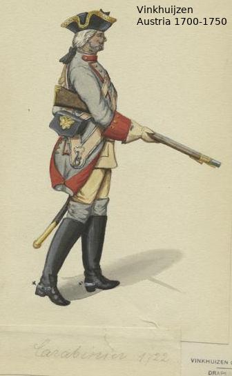 Austrian Uniforms Vinkhuijzen collection NYPL Austr148