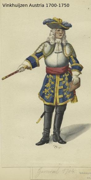 Austrian Uniforms Vinkhuijzen collection NYPL Austr149