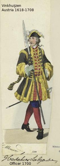 Austrian Uniforms Vinkhuijzen collection NYPL Austri24