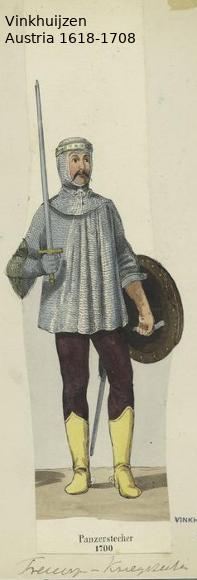 Austrian Uniforms Vinkhuijzen collection NYPL Austri25