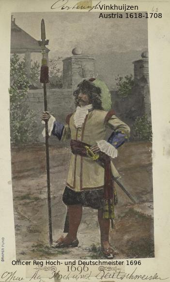 Austrian Uniforms Vinkhuijzen collection NYPL Austri26