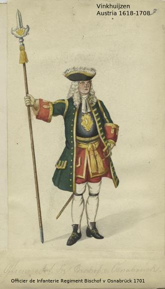 Austrian Uniforms Vinkhuijzen collection NYPL Austri27