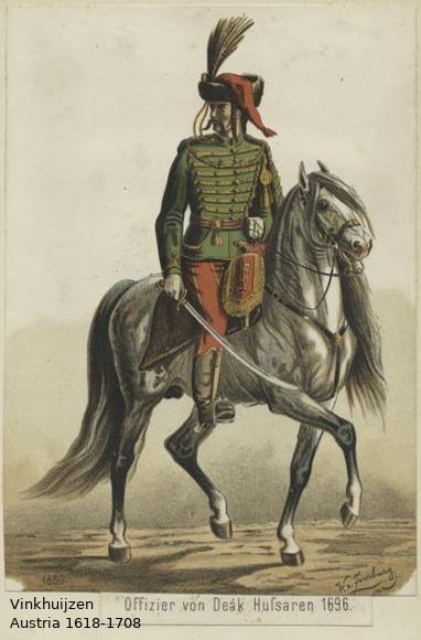 Austrian Uniforms Vinkhuijzen collection NYPL Austri28