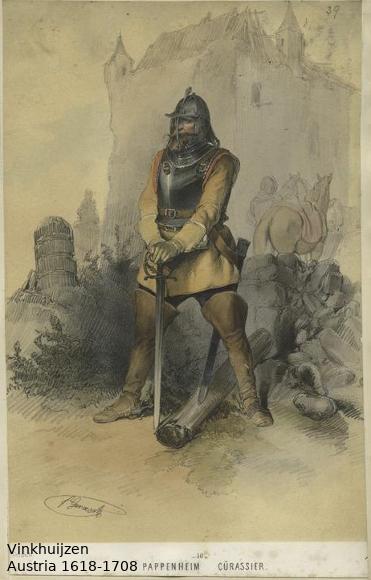 Austrian Uniforms Vinkhuijzen collection NYPL Austri30