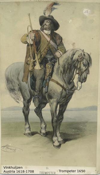Austrian Uniforms Vinkhuijzen collection NYPL Austri37