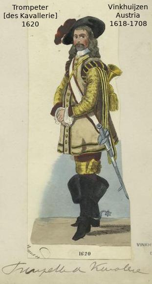Austrian Uniforms Vinkhuijzen collection NYPL Austri38