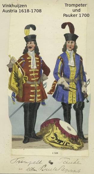 Austrian Uniforms Vinkhuijzen collection NYPL Austri39
