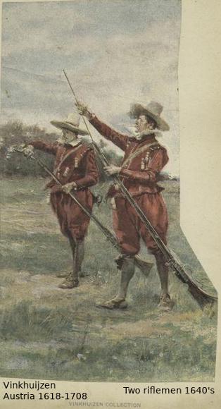 Austrian Uniforms Vinkhuijzen collection NYPL Austri44