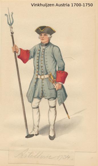 Austrian Uniforms Vinkhuijzen collection NYPL Austri50