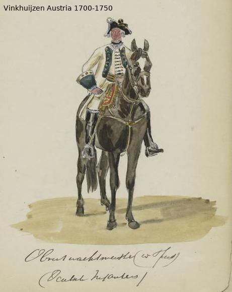 Austrian Uniforms Vinkhuijzen collection NYPL Austri54