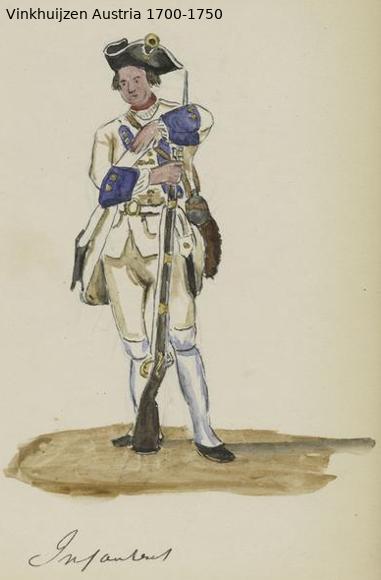 Austrian Uniforms Vinkhuijzen collection NYPL Austri56
